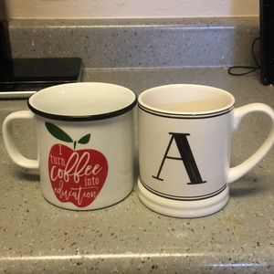 Two coffee mugs